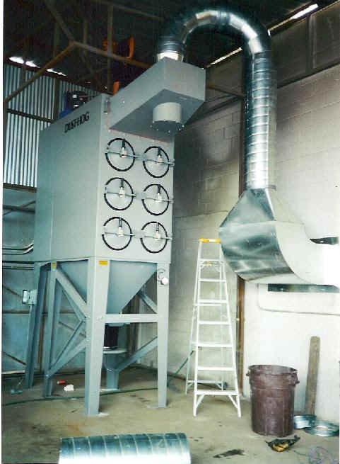 Installation Of Custom Dust Mist And Fume Control Systems